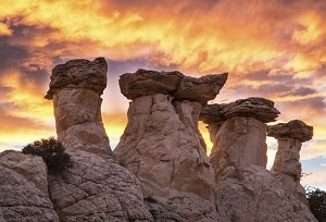 Hoodoos at Grand Staircase Escalante National Monument in Utah. Phot by Bob Wick, BLM