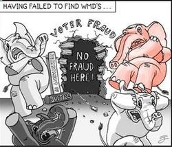Voter Fraud Myth—the next unfound WMD in America