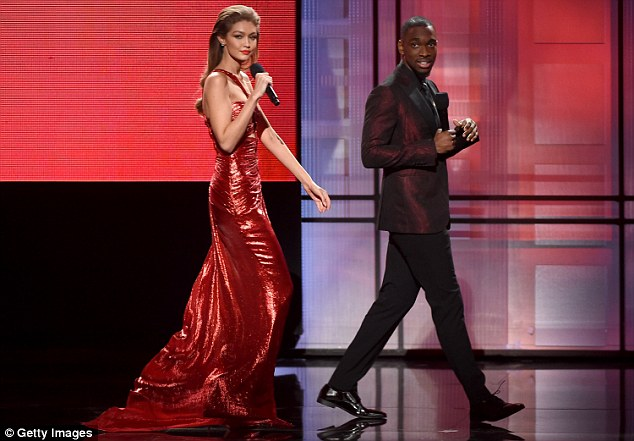 She did her best: During the AMAs, some Twitter users criticized Gigi for her hosting style and her husky voice