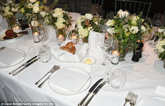 Charity event: Instead of a live auction and formal sit down dinner, the creative fundraiser will see London's top restaurants host 40 private dinners on the same night