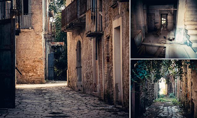 Italian town left abandoned for 35 years after entire population after an earthquake hit