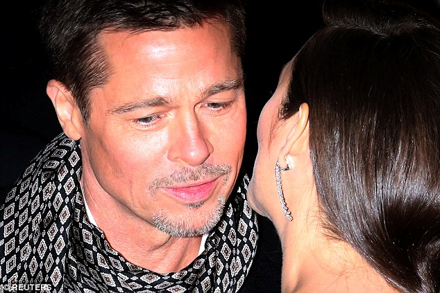 Purely professional:The professional coupling has courted controversy due to the Brad's marriage split from wife Angelina Jolie, leading to reports of a romance between the co-stars