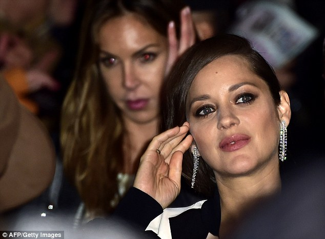 Defiant:During an appearance on the Today Show on Thursday, Marion insisted that she did not hold a grudge when the affair gossip floated around