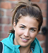 Rise and shine: Actress Gemma Atkinson sported a casual ensemble as she left the Key 103 Radio station in Manchester.