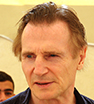 Making a difference: Liam Neeson met with young Syrian refugees in Jordan and heard about their struggles in exile.