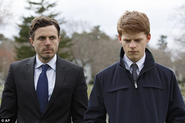 He made it: Best Male Lead went to Casey Affleck (pictured with Lucas Hedges) for Manchester by the Sea, David Harewood for Free In Deed, Viggo Mortensen in Captain Fantastic, Jesse Plemons in Other People and Tim Roth in Chronic