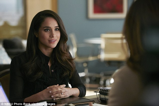 Her family says she was interested in acting from a very young age. Meghan is pictured as Rachel Zane in Suits