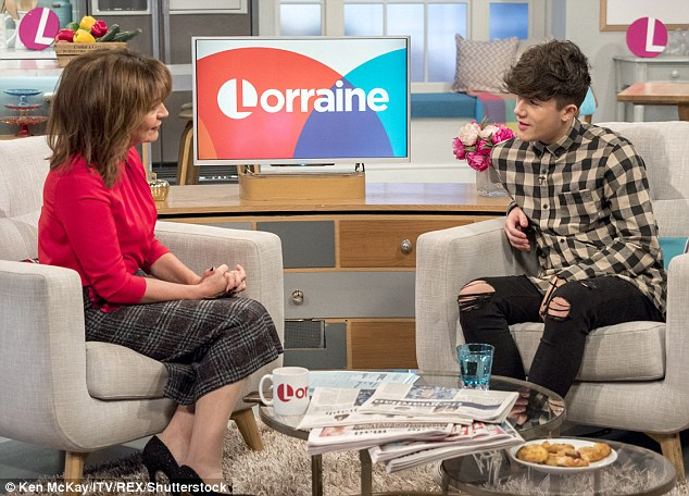 Looking back: Reflecting on his departure during an appearance on Lorraine, Ryan admitted he found it hard to understand Honey during their time together on the ITV show
