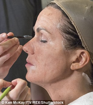 Leave it to the experts: The make-up team chosen have worked on the likes of Star Wars and Game of Thrones