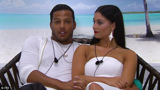 Perfect pair: Cally Jane and Luis knew each other before appearing on Love Island last year, but got serious on the ITV2 dating show and finished in fourth place