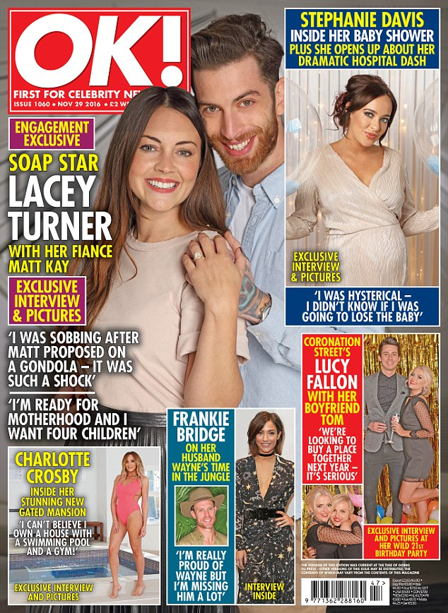 Excited: Read their full, exciting story in this week's OK! Magazine - out today