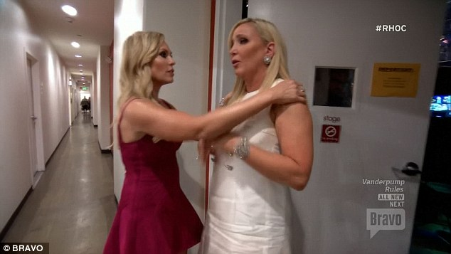 Showing support: Tamra encouraged Shannon to get back out there