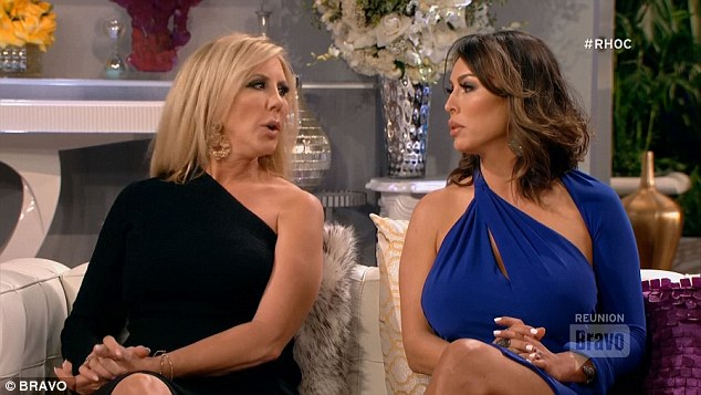 Sticking together: Kelly Dodd and Vicki presented a mostly united front