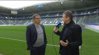 Borrussia-Sportdirektor Max Eberl im Interview.