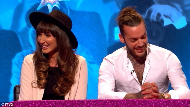 Not just yet:'We're not, like, official... its a bit of an awkward situation,' Megan explained after being quizzed by host Keith Lemon