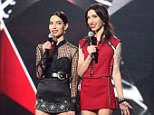 SYDNEY, AUSTRALIA - NOVEMBER 23:  The Veronicas on stage, hosting the 30th Annual ARIA Awards 2016 at The Star on November 23, 2016 in Sydney, Australia.  (Photo by Brendon Thorne/Getty Images)