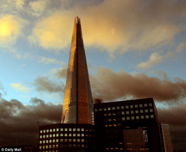 The tower will still be more than 200ft shorter than the Shard, which is the tallest skyscraper in western Europe