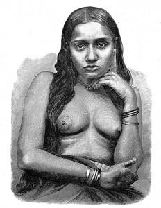 Hindu Frau, aus Indien