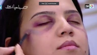'After the beating': Moroccan TV Airs Makeup Tips for Hiding Domestic Violence
