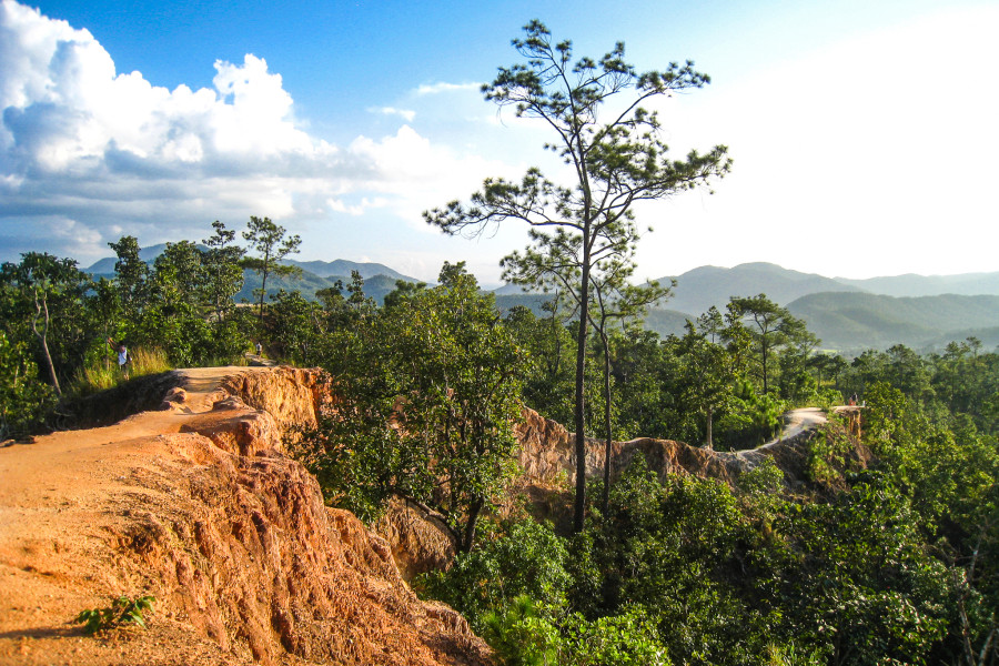 Canyons in Pai, Thailand