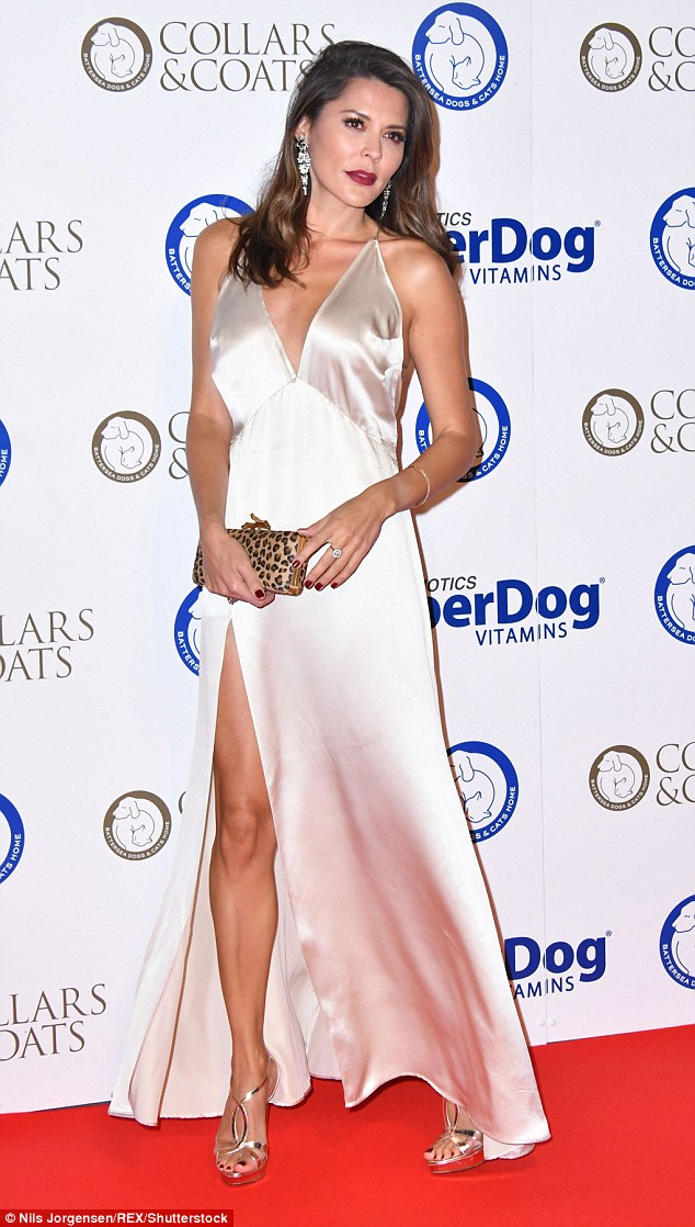 Who let the dogs out: Guests and stars were welcomed by the popular Battersea Doggie Guard Of Honour – a red-carpet parade of Battersea Dogs & Cats Home's pooches