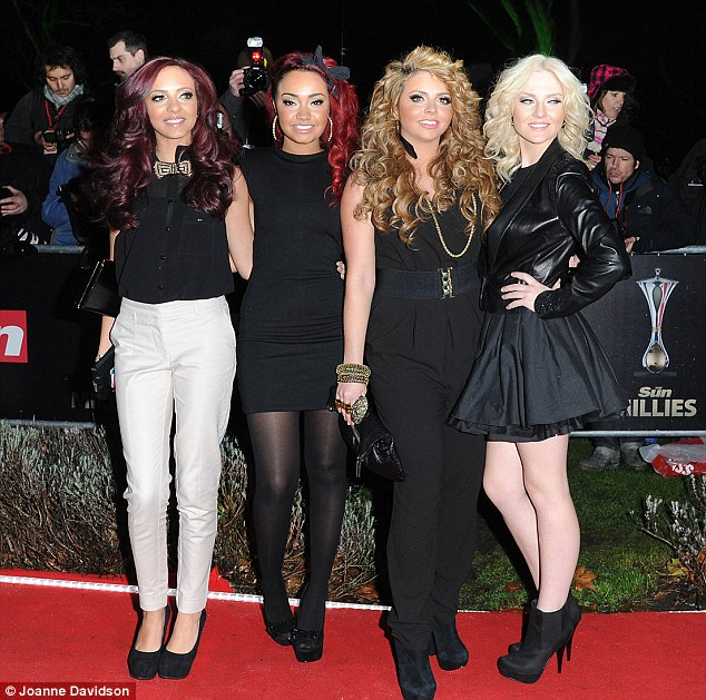 The new Spice Girls? Little Mix may not be able to meet Posh tonight, but David can give them some advice on her behalf