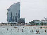 Barcelona's Barceloneta beach ©Pau Barrena (AFP)