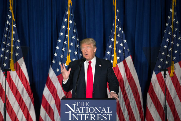 Trump Foreign Policy Speech Latest Example of GOP Bankruptcy in Foreign Policy Ideas, Competence | Math v Myth