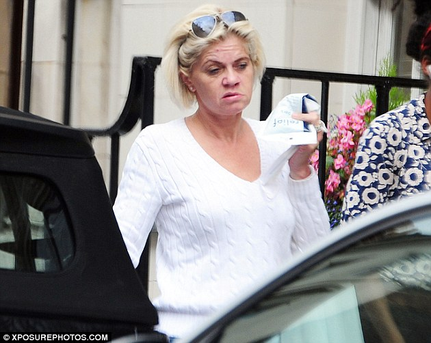'It's frightening and draining': Danniella Westbrook, 42, claims a stalker hacked her emails and released false information claiming she has relapsed on cocaine