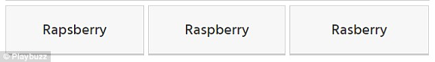 Answer: Raspberry