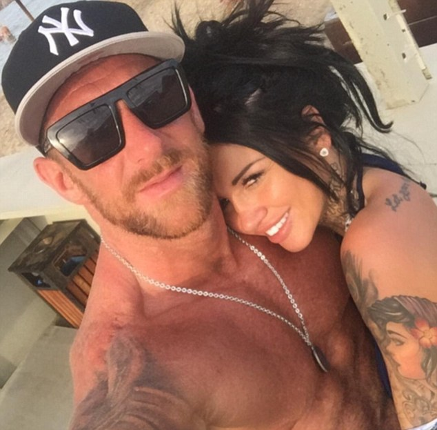 Mystery man: Sallie has kept quiet about the identity of her new beau