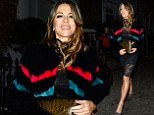 7 December 2016.\nElizabeth Hurley is pictured leaving her London home to head to The Ivy.\nCredit: Ben Eade/GoffPhotos.com   Ref: KGC-102\n