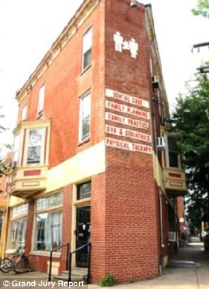 The West Philadelphia Women's Medical Society, where Dr Gosnell held his practice