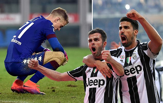 Torino 1-3 Juventus: Gonzalo Higuain strikes either side of half-time to seal Turin derby