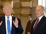 US President-elect Donald Trump held talks with ex-Marine Corps general John Kelly in Bedminster, New Jersey, on November 20 ©Don Emmert (AFP/File)