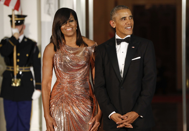 At 52 years old, Michelle Obama is the youngest first lady since Jackie Kennedy to re-enter civilian life, which has left many wondering what she will do outside of the White House. Pictured above with the president in October, at the Italian State Dinner