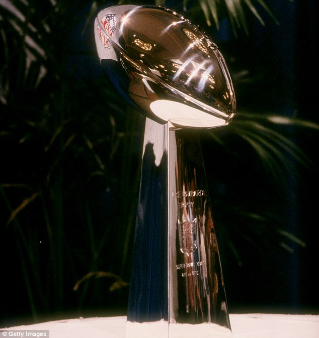 Precious: The Lombardi Trophy weighs 7 pound and is entirely made of sterling silver