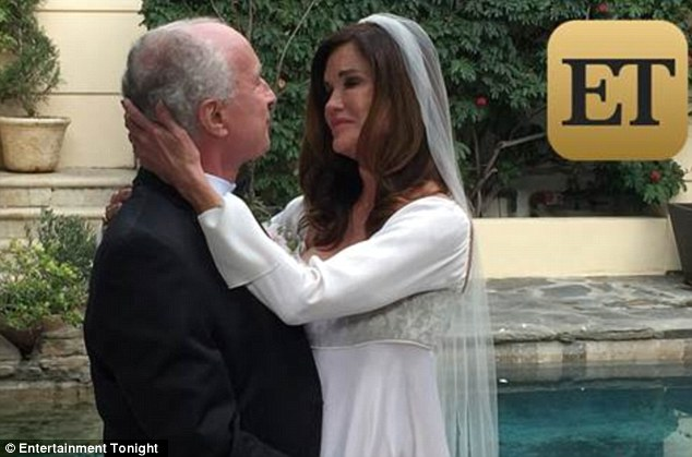 Happy news: Janice Dickinson married her fiance Dr. Robert Gerner in an intimate ceremony in Beverly Hills on Saturday