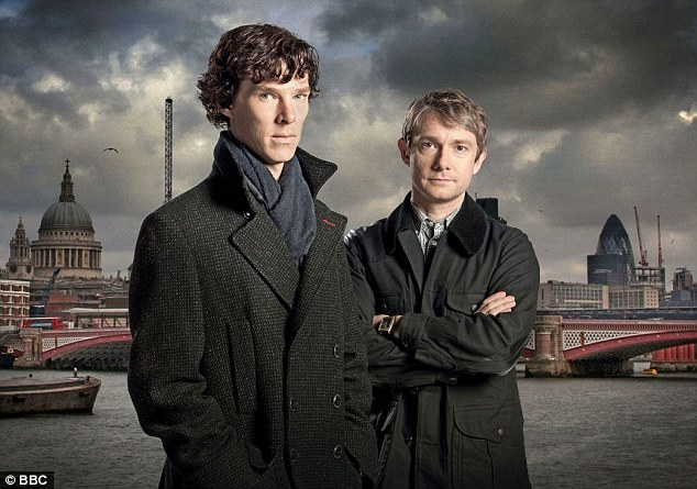 Coming soon: He's poised to return in an eagerly anticipated fourth series of hit BBC drama Sherlock alongside Martin Freeman, but Benedict Cumberbatch very nearly didn't land his career defining part as the enigmatic sleuth – because he lacked sex appeal