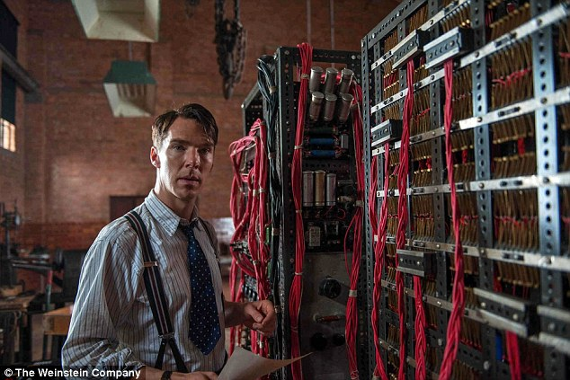 Success: Cumberbatch has since gone on to Hollywood stardom with prominent roles in a string of box office hits, including The Imitation Game