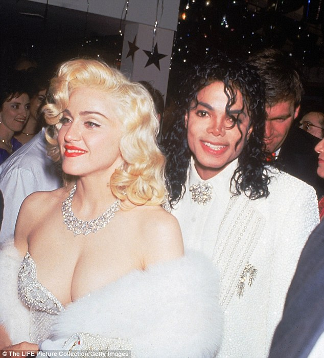 Back in the day: Madonna and Michael Jackson at The Academy Awards in 1991