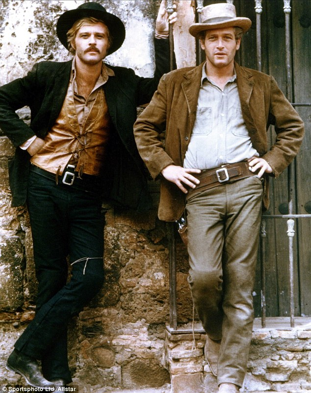It's a hit: Redford starred alongside Paul Newman in 1969 hitButch Cassidy and the Sundance Kid