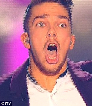 Oh wow! Matt could hardly contain his joy as he was crowned winner
