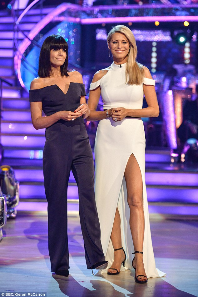 Strictly presenter Tess, seen right with co-host Claudia Winkleman, is unfairly criticised for her presenting efforts, some mothers said