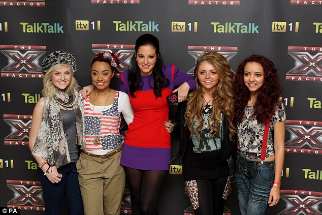 As they were: Little Mix made X Factor history as mentor Tulisa nurtured them through the series, going on to take the crown in December 2011