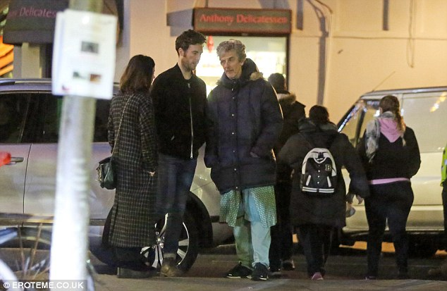 Always involved: Though Jenna left her part in Doctor Who in 2015, she seems to still be involved in part