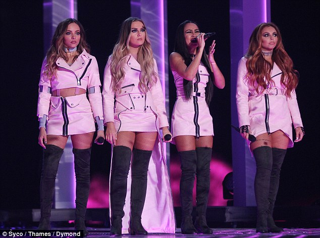 Sexy stuff! Little Mix took the stage ahead of Matt Terry's win, when they joined Charlie Pluth in belting out their new single Oops before he departed the stage and they gave a stunning rendition of new hit Touch