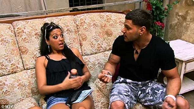 2009-2014: Before Haqq, the jacked half-Italian and half-Puerto Rican had a notoriously acrimonious, on/off relationship with his Jersey Shore co-star Sammi 'Sweetheart' Giancola