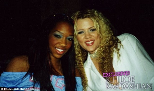 Pictured in 2001: Meanwhile, the Definitely Divorcing actress' longest relationship has actually been with her BFF since age 15, Khloé Kardashian