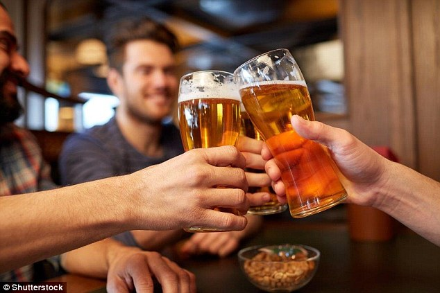 Since 1872 it has been illegal to be drunk in a licensed premise and anyone caught inebriated can be fined (file image)